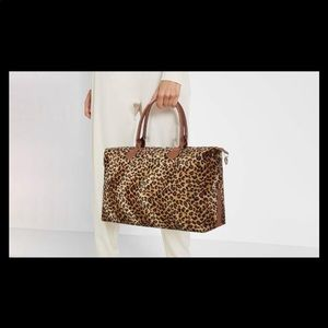 Leopard Print Weekend Bag